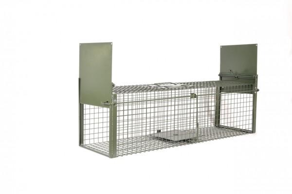 Kraptrap® Tierfalle Kaninchenfalle Marderfalle 100cm Durchlauffalle