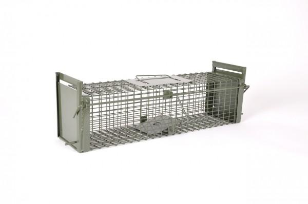 Kraptrap® Rattenfalle, Kleintierfalle, Frettchenfalle, Kastenfalle 60 cm