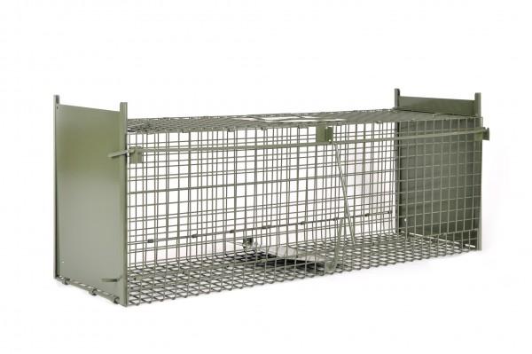 Kraptrap® faltbare Tierfalle Durchlauffalle Katzenfalle 92 cm