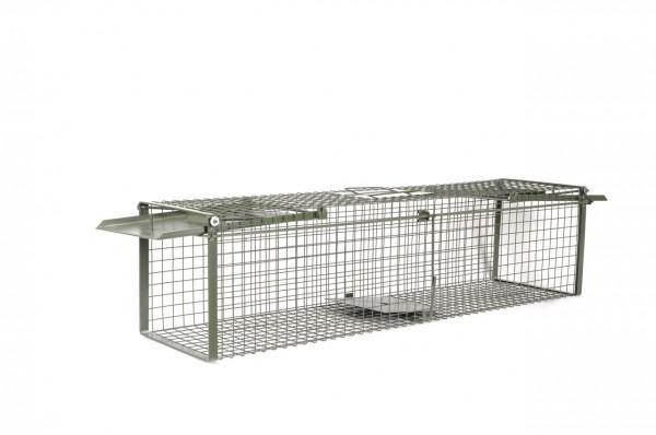 Kraptrap® Tierfalle Nutriafalle Kaninchenfalle Marderhunde 116cm Durchlauffalle